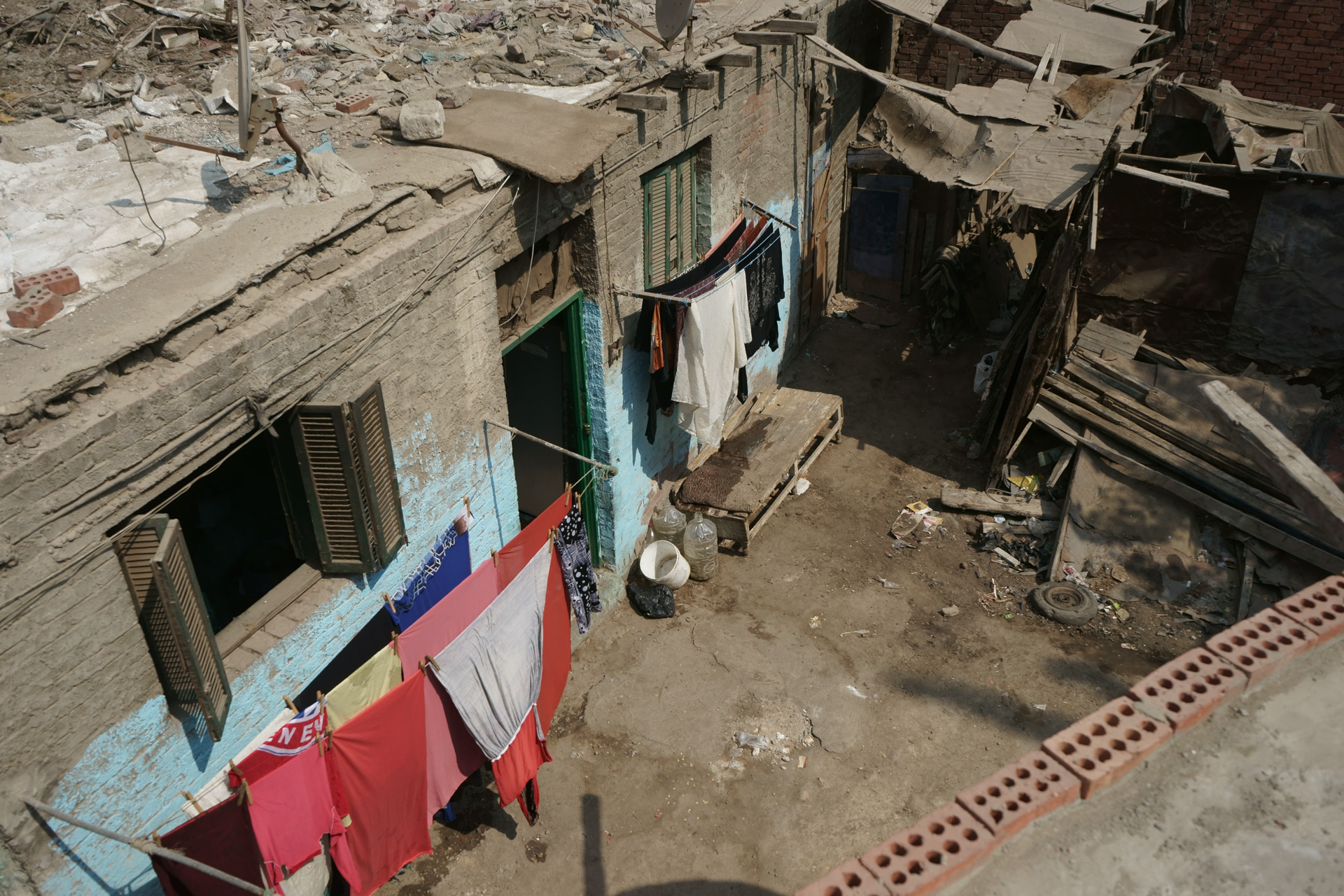 A settlement in Cairo